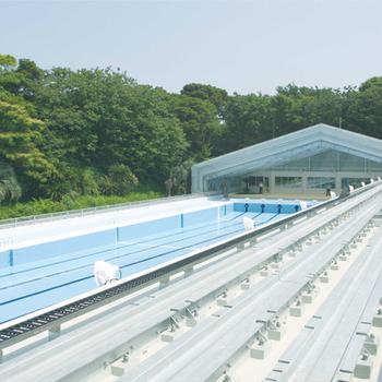 DHC赤沢プール可動式上屋