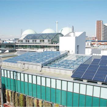 板橋区立高島平温水プール可動式上屋
