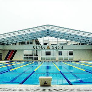 県立熊谷高等学校プール可動式上屋