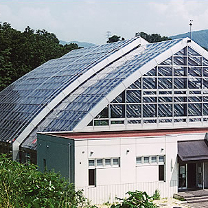 国立金沢大学角間団地水泳プール可動式上屋