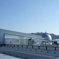 仙台天文台(PFI事業)スライディングルーフ